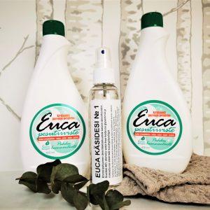 Tarjous Euca yleispesuaineet ja käsidesi