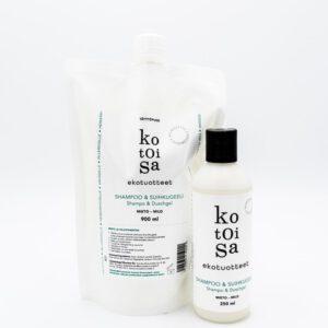 Kotoisa shampoo suihkugeeli
